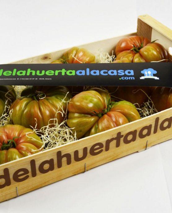 Rosa de Barbastro: tomate rosa, tomate gordo, tomate somontano, tomate Huesca, Premium, gourmet, rosado, eco sostenible, bio, ecológico, organico